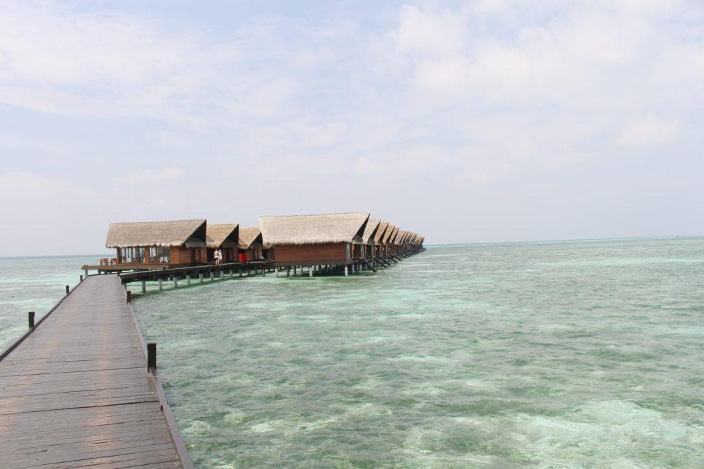 Villa sur pilotis Maldives north male atoll, hôtel adaaran