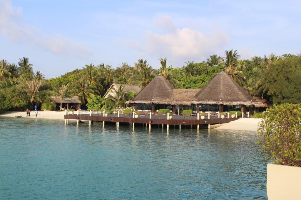 restaurant maldives, north male atoll, hôtel adaaran