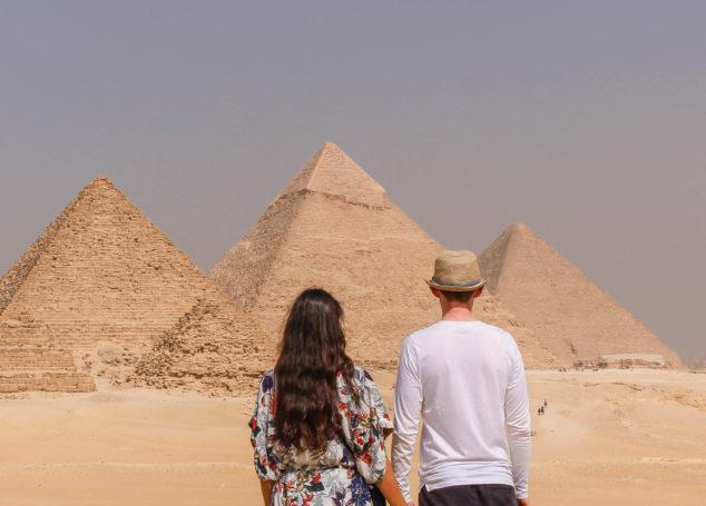A la découverte des pyramides : Egypte