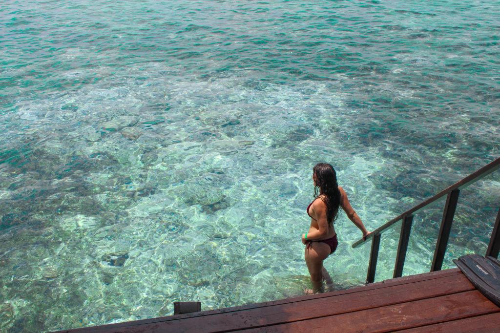 Villa sur pilotis maldives, North male atoll, hôtel adaaran