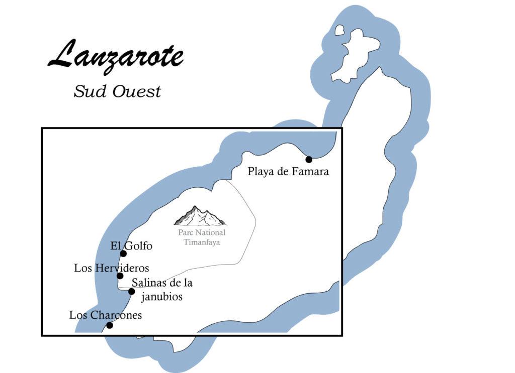 Carte-lanzarote-sud-ouest