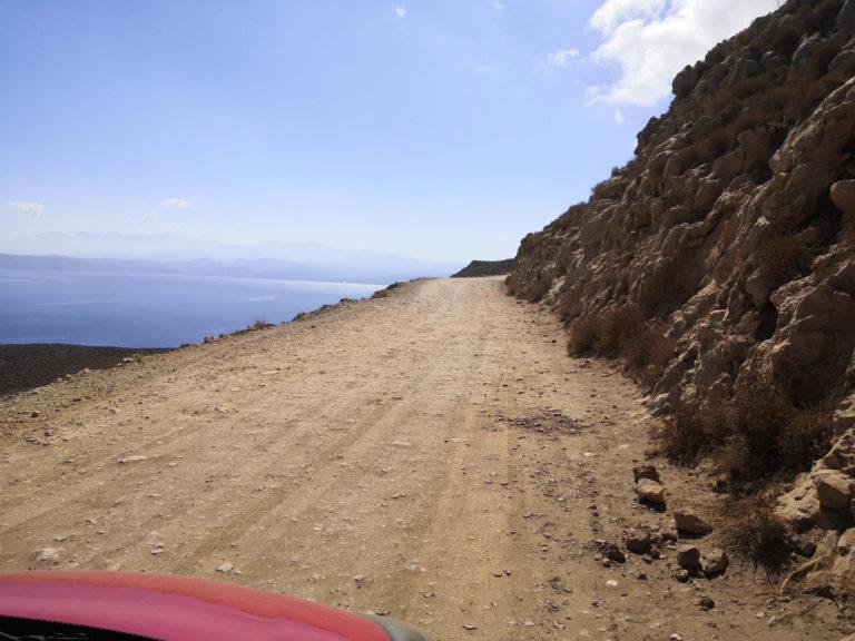 Route de Balos Beach