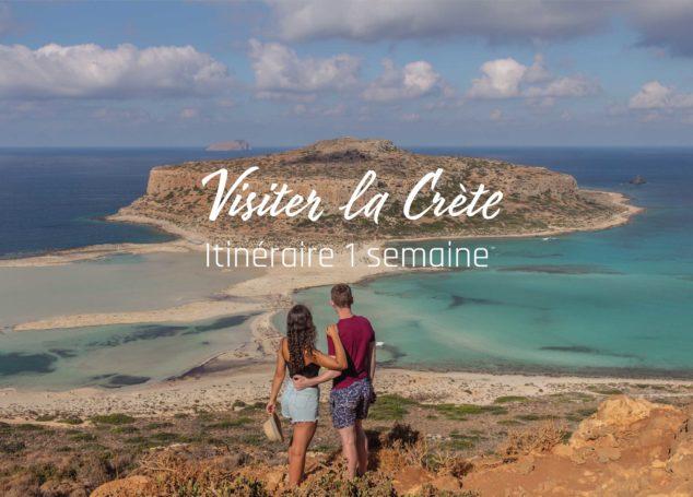 Road Trip en Crète : Itinéraire
