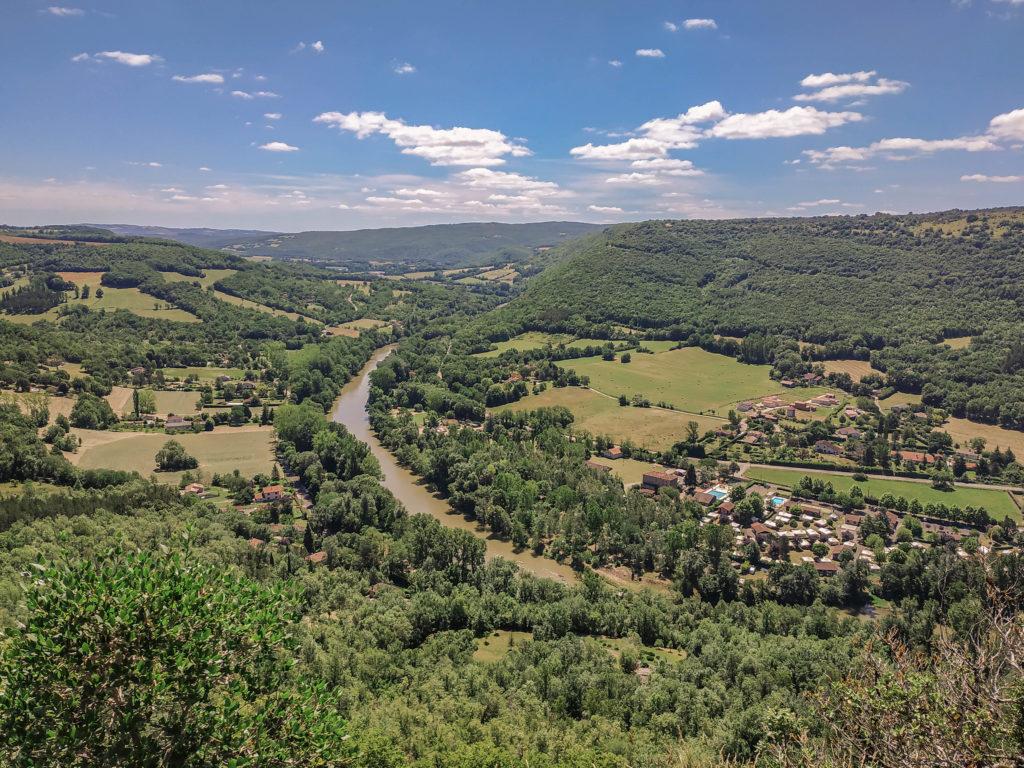 Point de vue du roc Deymié